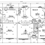 Victoria Ranch Modular Floor Plan